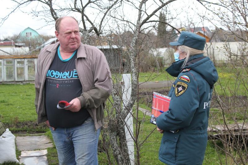 В Костроме прошел рейд по профилактике пожаров в садовых товариществах