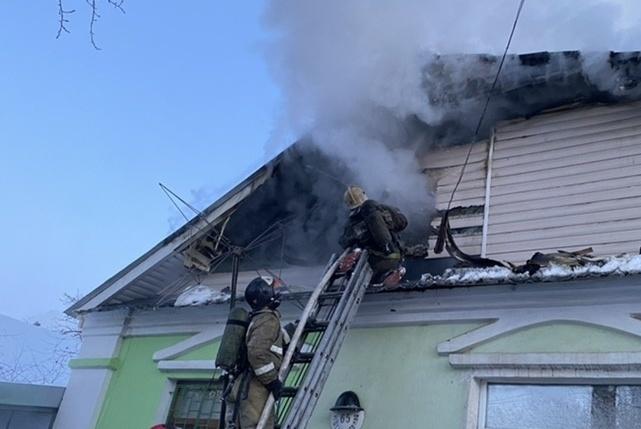 За выходные и праздничные дни в Костромской области произошло 17 пожаров