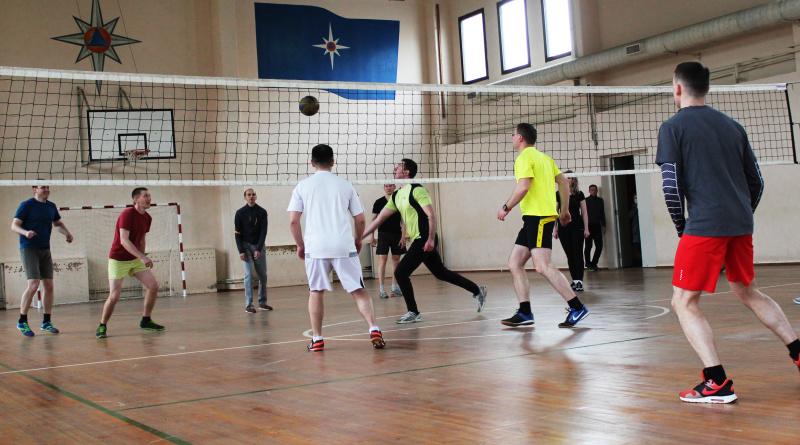 В Главном управлении МЧС России по Костромской области прошли дружеские соревнования по волейболу
