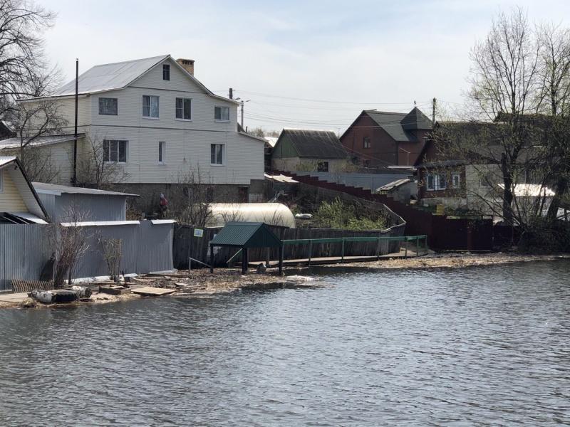 Обстановка с паводком на территории Костромского района